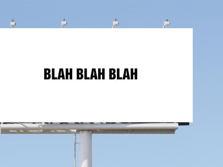 Don't Be A Billboard (Remember to ENGAGE)