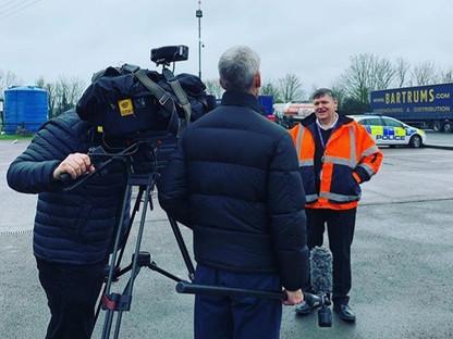 Coronavirus Filming Day 1 - Wiltshire Cameraman