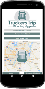 Solo Company Drivers Truckers Trip Planning App