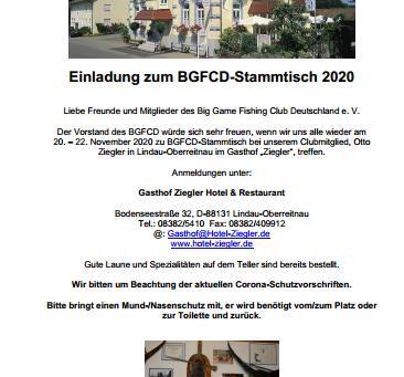 BGFCD-Stammtisch 2020