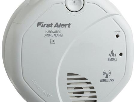 Pengesan Asap Tanpa Wayar (Smoke Detector Wireless)