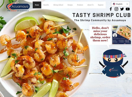 """Tasty Shrimp Club"" by ACUAMAYA, learn what distinguishes Guatemala's delicious shrimp"