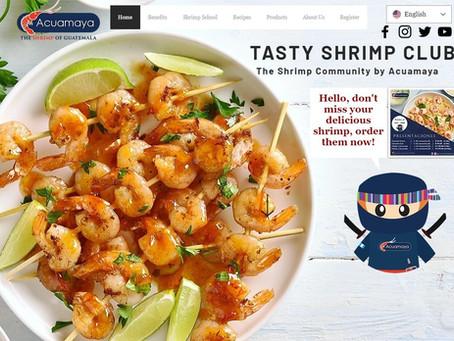 """Tasty Shrimp Club"" by ACUAMAYA, learn what distinguishes Guatemala's delicious shrimp"