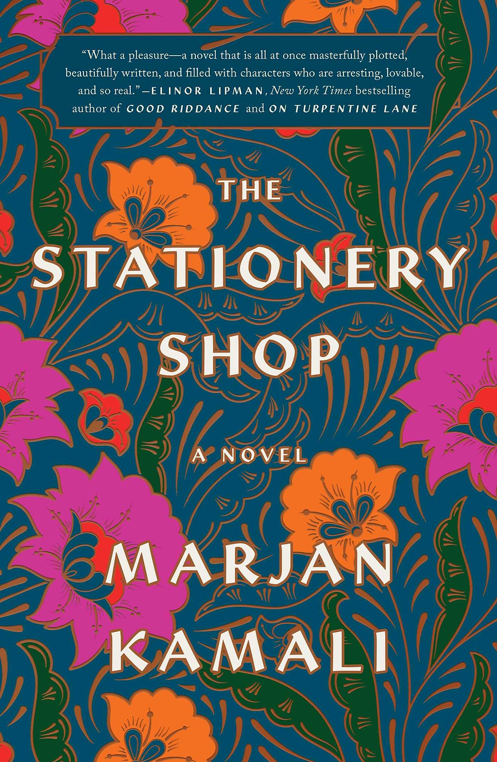 The Stationary Shop by Marjan Kamali : the book slut book reviews thebookslut best floral book covers valentines day books
