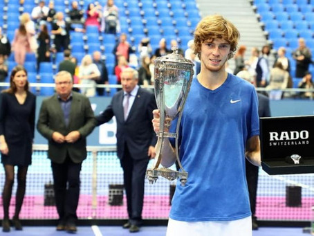 RUBLEV (RUS) WINS 2ND TITLE IN MOSCOW