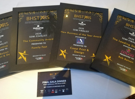 Coast Print & Design & Family Fest shoots into BH Stars Final