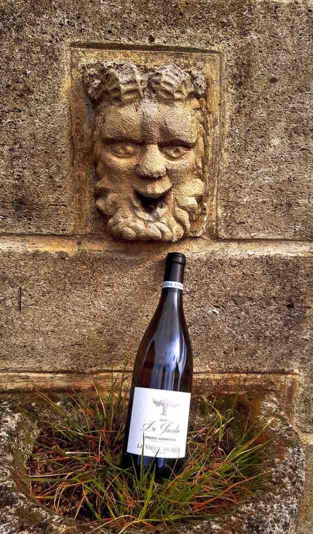 Vin-blanc - cuvée - Le Jardin - Domaine du Vieux Murier - Florian Buit - Crozes-Hermitage