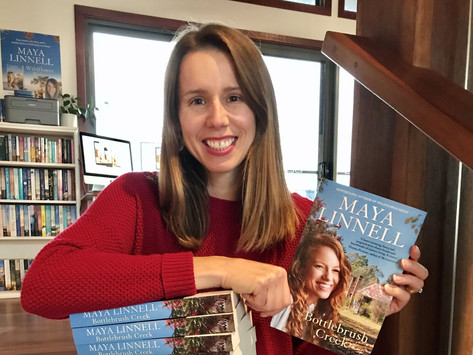 Mid-June Author Stalker with Maya Linnell!