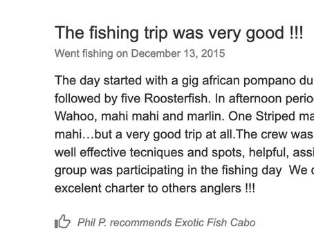 2015 December 13rd Customer's review