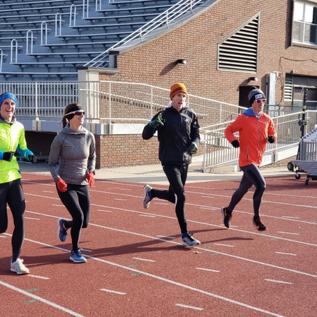 Upcoming Competitions: Sun Angel Classic April 5;Cherry Blossom Ten Mile April 7; B.A.A. Mile April