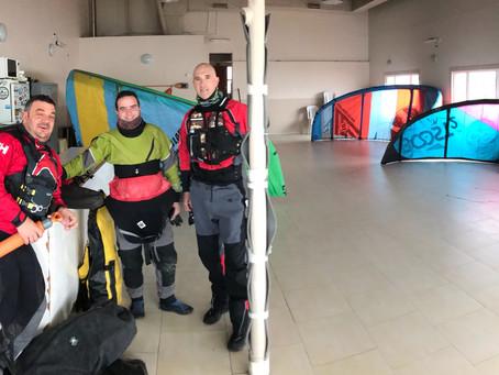 Salida al Río Grande en kayak por parte de socios del Club