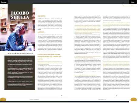 Entrevista a Jacobo Siruela