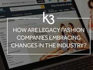 How are legacy fashion companies embracing changes in the industry?