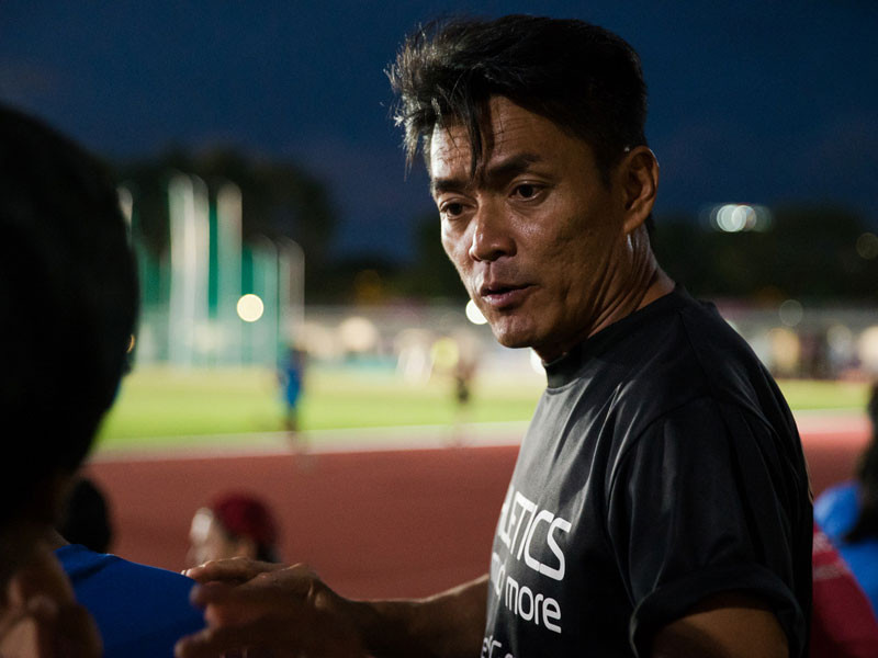 One of the top sprints coach in Singapore