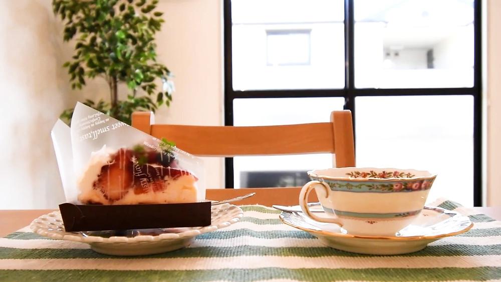 おうちカフェを堪能できるのはグレイスロイヤルだけ