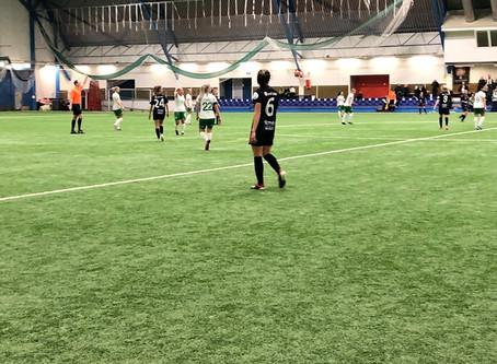 Olivias mål gav 1-1 i Eckeröhallen