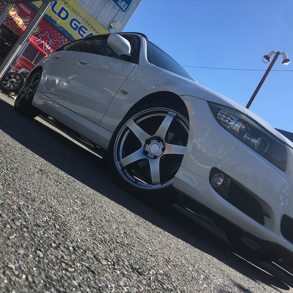 BMW 3シリーズ ツーリング E90 E91 SSR GTV01 19インチ  8.5J FFT 軽量 国産 ホイール