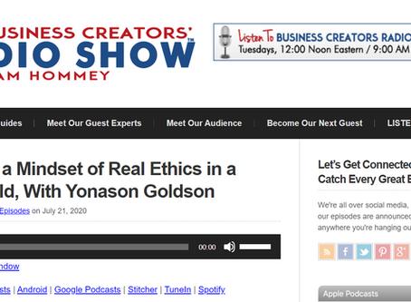 Business Creators' Radio Show Interview