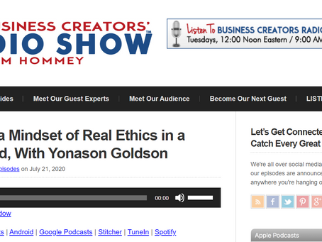 Business Creators' Radio Show Interview