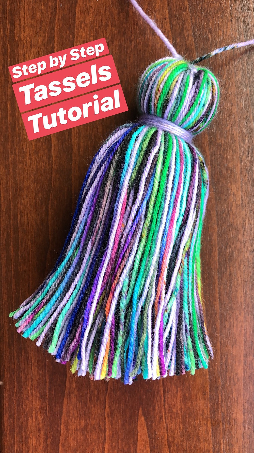 Step by Step Tassels Tutorial