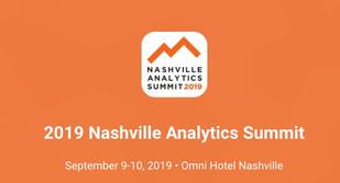 Sep 9-10 | Analytics Summit | Nashville, TN