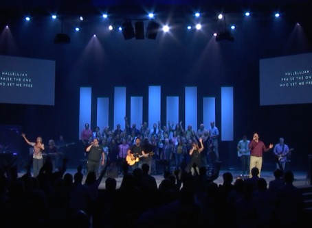 Express your worship, let your praise be heard, give Him thanks