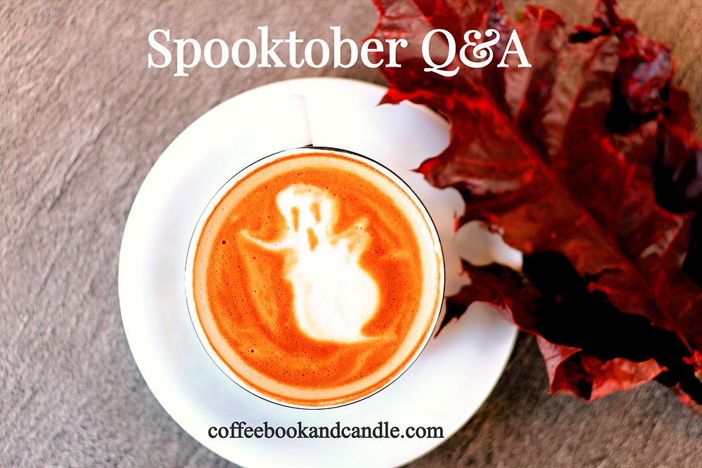 Spooktober Q&A with book bloggers Kori and Jordan of Coffee, Book, & Candle