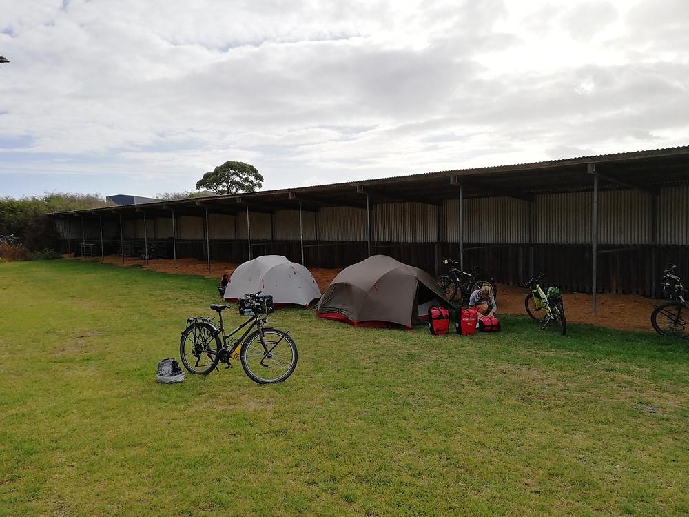 Tour du monde à vélo en famille Warrnambool Australie