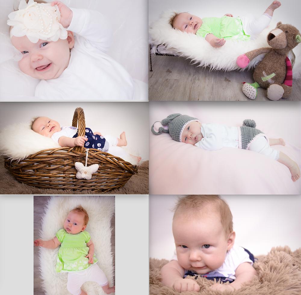Weitere Versuche in der Babyfotografie