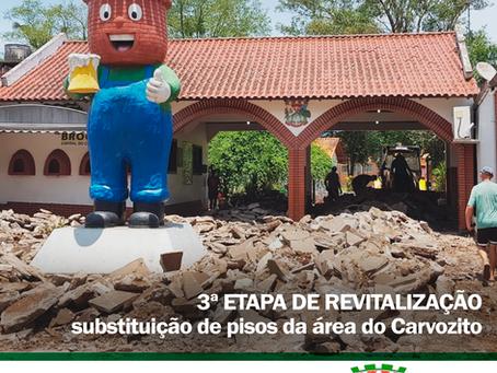 Revitalização da entrada do Parque/Praça Municipal