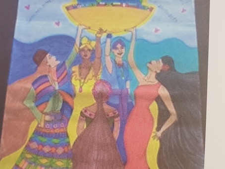 Nicole Kye of the NJ chapter El Escorial places 2nd in poster contest!