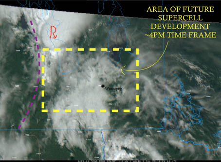 Intense storms to impact SE Manitoba; City of Winnipeg under the gun