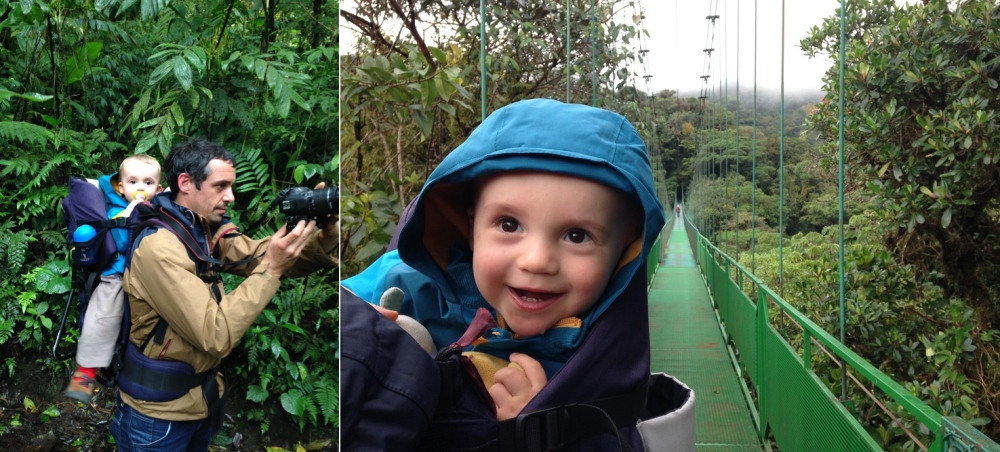 monteverde costa rica ponts suspendus