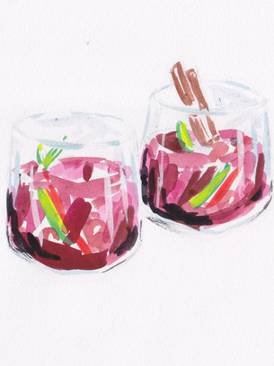 The Best Fall Sangria, The Mudblood