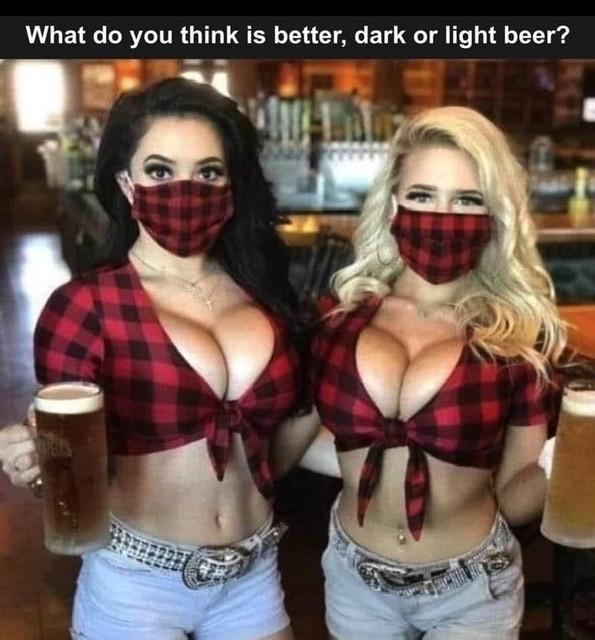 Big Boobs Beer Girls Meme