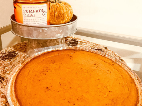 Pumpkin Pie for the Holiday Season