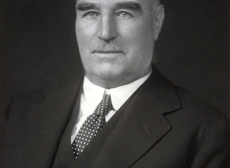 """New Zealand Prime Minister """"Honest George"""" William Forbes"""