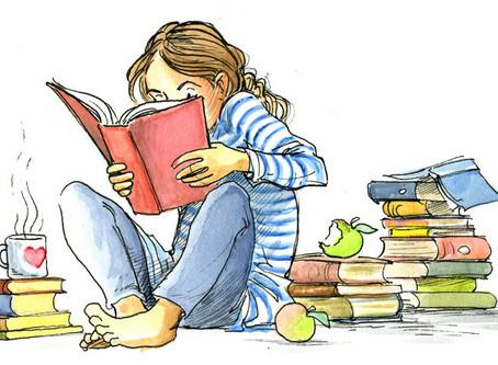 Lees eens een boek zonder er een boekbespreking over te maken...