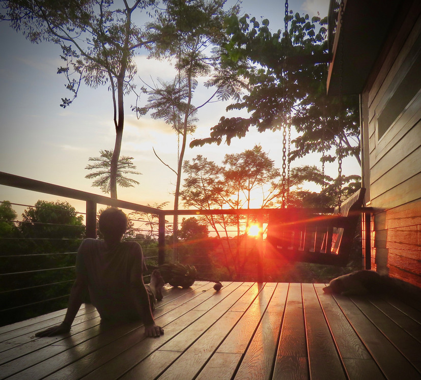 Fusion Home Sunset