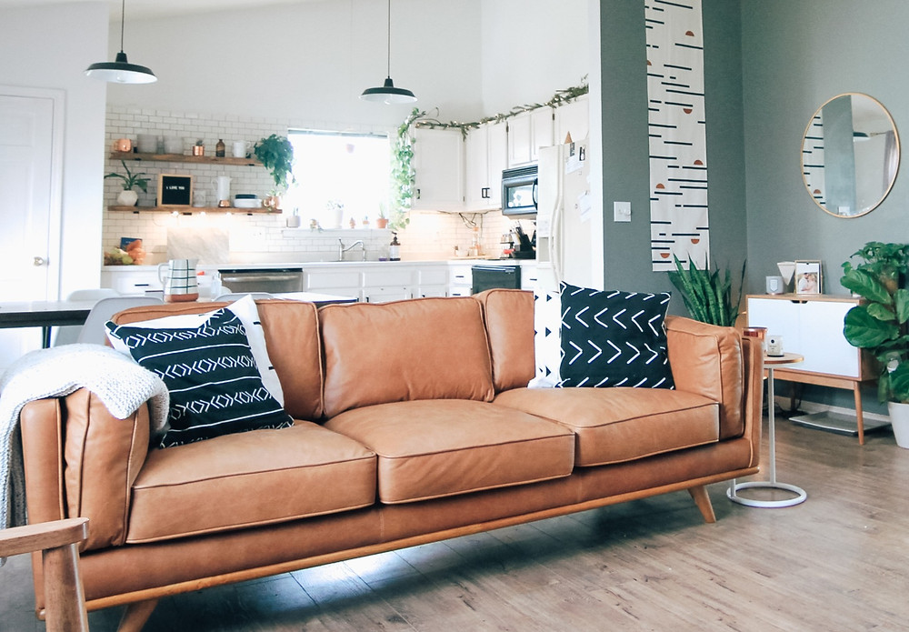3 Vegan Lifestyle Tips for Beginners - Leather sofas are not vegan