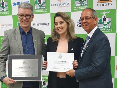Mais Segurança recebe o Prêmio SINTESP 2019