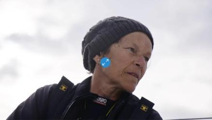 1ère ambassadrice du club, Anne Liardet portera les couleurs de Cancer@Work lors de la prochaine Mini-Transat