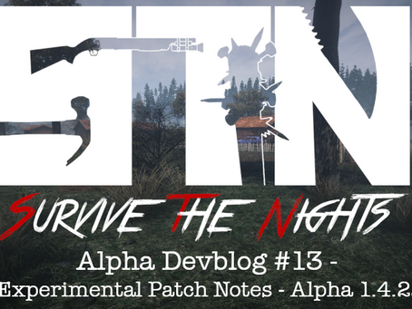 Alpha Devblog #13 - Experimental Patch Notes - Alpha 1.4.22 (Alpha v1.5 Preview)