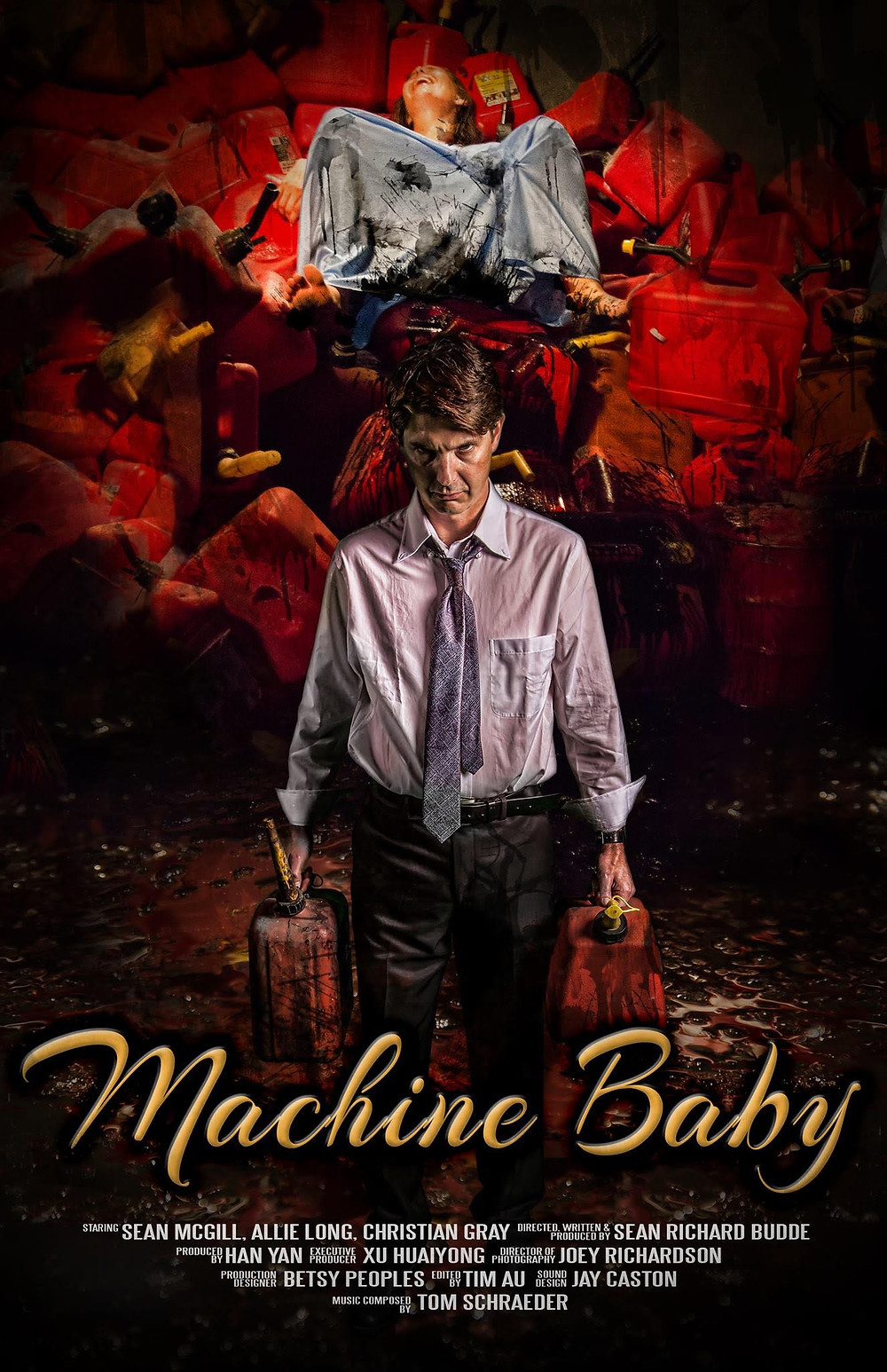 Machine Baby short movie poster