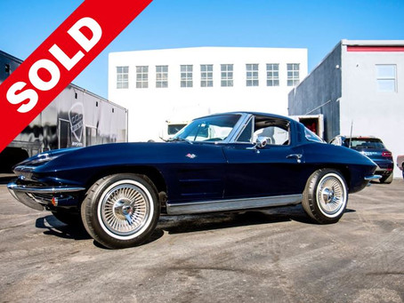 "1963 CHEVROLETCORVETTE ""STINGRAY"" SPLIT WINDOW (SOLD)"