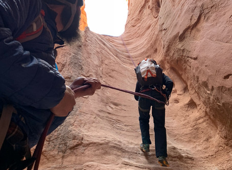 Canyoneering and Recovery