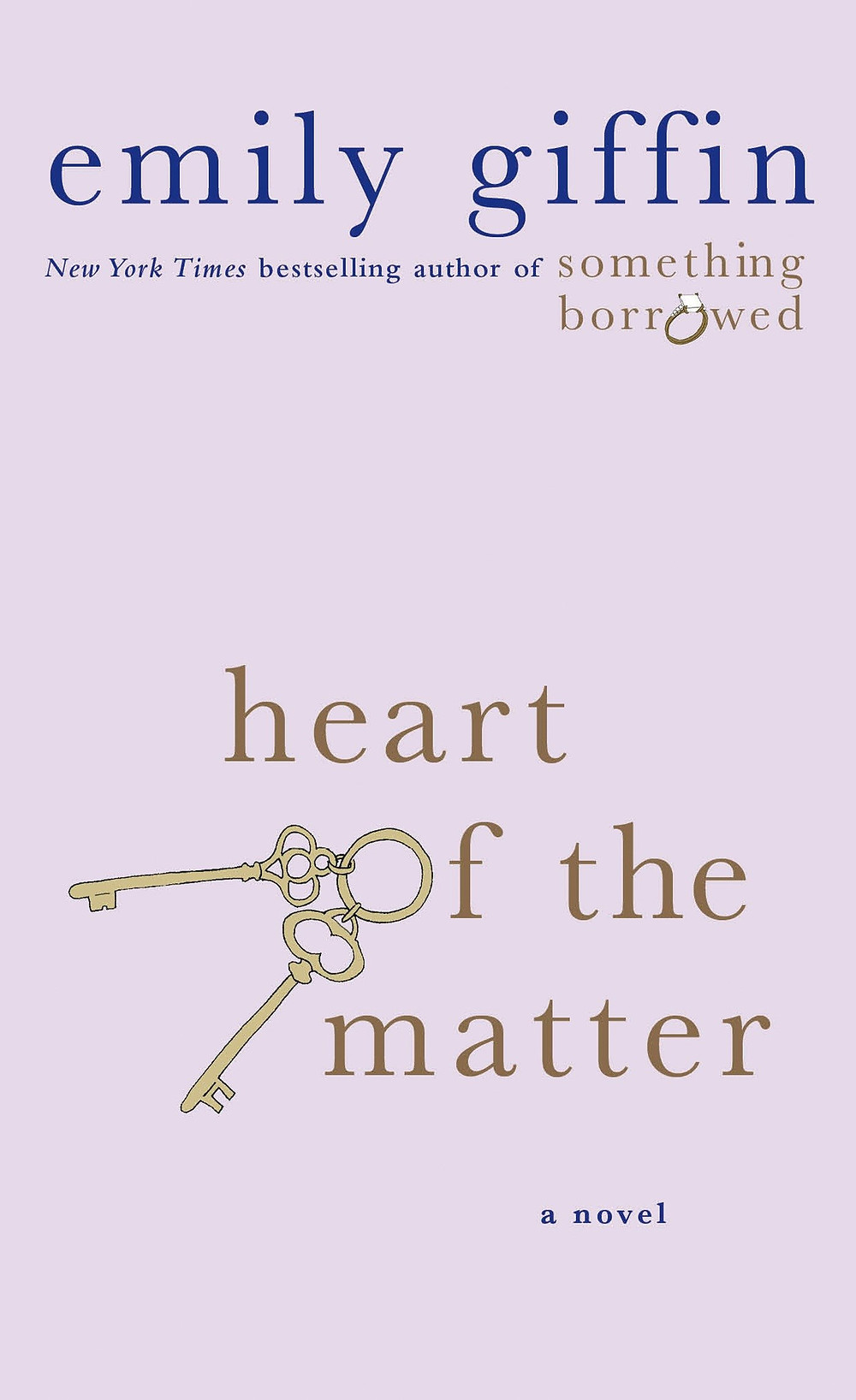 Heart of the Matter by Emily Giffin : the book slut book reviews