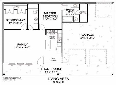 #Barndominium House Plan-BRN-02