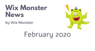 מה חדש בוויקס - פברואר 2020