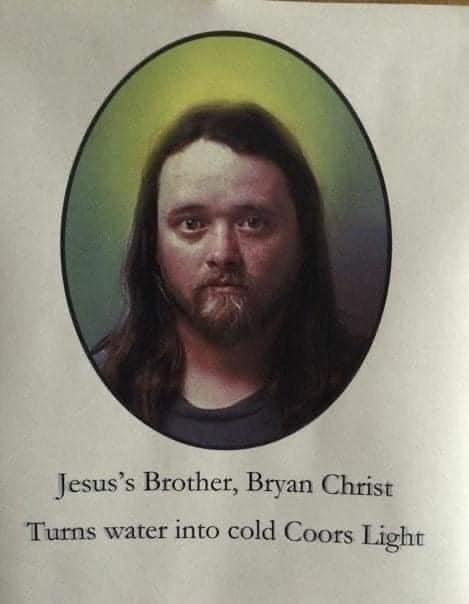 Jesus' Brother Bryan Christ Meme
